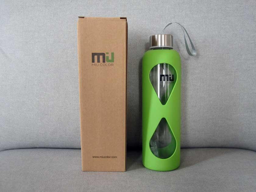 Miu-Color-Glas-Trinkflasche